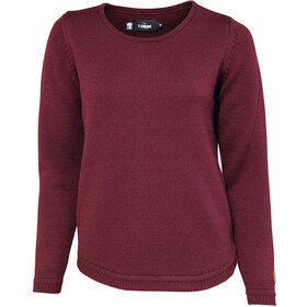 Ivanhoe of Sweden GOTS Ivy Pullover Damer, bordeaux
